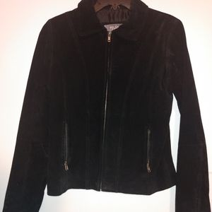 Wilson's suede leather jacket.